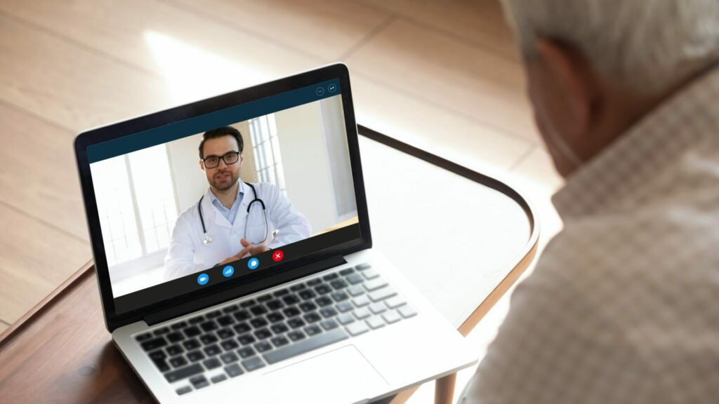 Arzt Online Gespräch